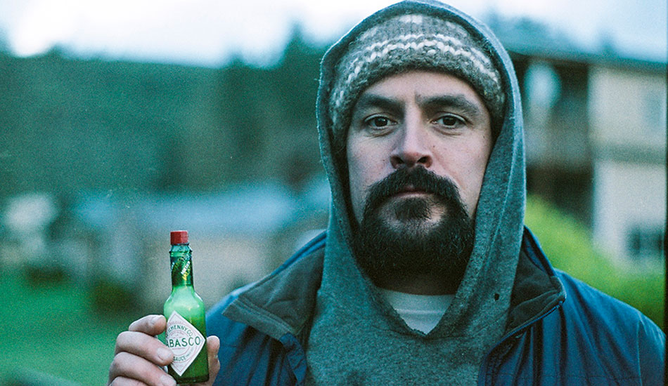 "This is a 35mm film portrait of photographer, videographer, and all around awesome dude, Dean Azim. Dean is an incredibly talented shooter from Vancouver Island, British Columbia. Look him up. Killer stuff. Oh, and he loves hot sauce. Photo: <a href=""http://markmcinnis.com/\"">Mark McInnis</a>"