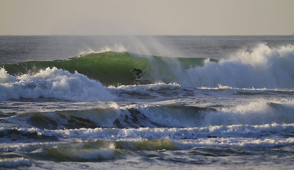 "Back lit barrel at Ocean Beach. Photo: <a href=""http://instagram.com/migdailphoto\""> Seth Migdail</a>"