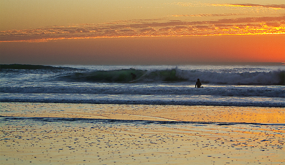 "Hiding from the sunset at Ocean Beach. Photo: <a href=""http://instagram.com/migdailphoto\""> Seth Migdail</a>"