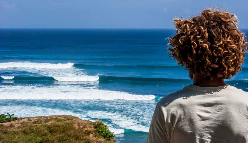 """Surf check in Indonesia. Photo: <a href=\""""http://anthonyghigliaprints.com/\"""" target=_blank>Anthony Ghiglia</a>"""