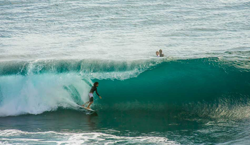 """Barrel #143,487 and counting in Bali. Photo: <a href=\""""http://anthonyghigliaprints.com/\"""" target=_blank>Anthony Ghiglia</a>"""