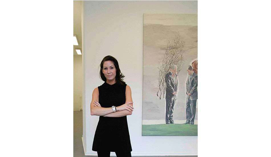 Sarah Belden, Art Advisor.