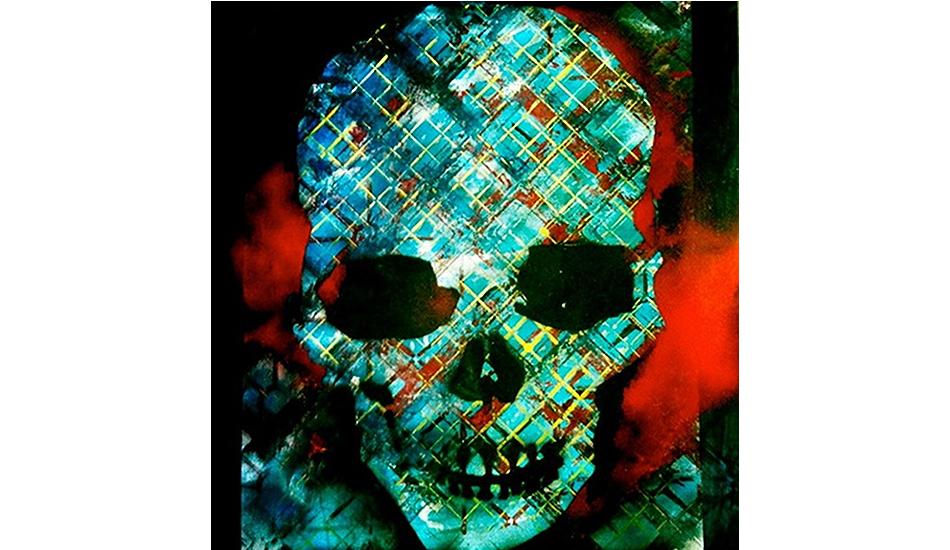 Untitled by Jack Warren, 2012. Acrylic on canvas.