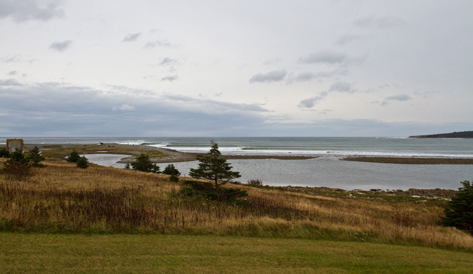Canada Point-  A beautiful point in Eastern Canada. Photo: Rusty Long