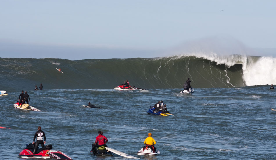 Giant Mavs, during the 2010 contest.  This day was way next level. Photo: Rusty Long