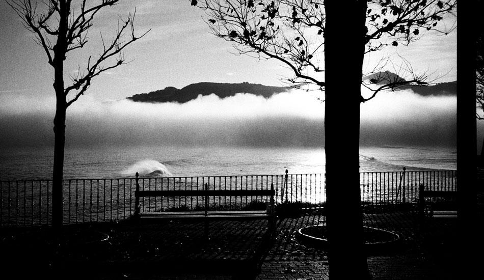 Fog in the Mundaka Valley. I had a great run there last October. Photo: Rusty Long