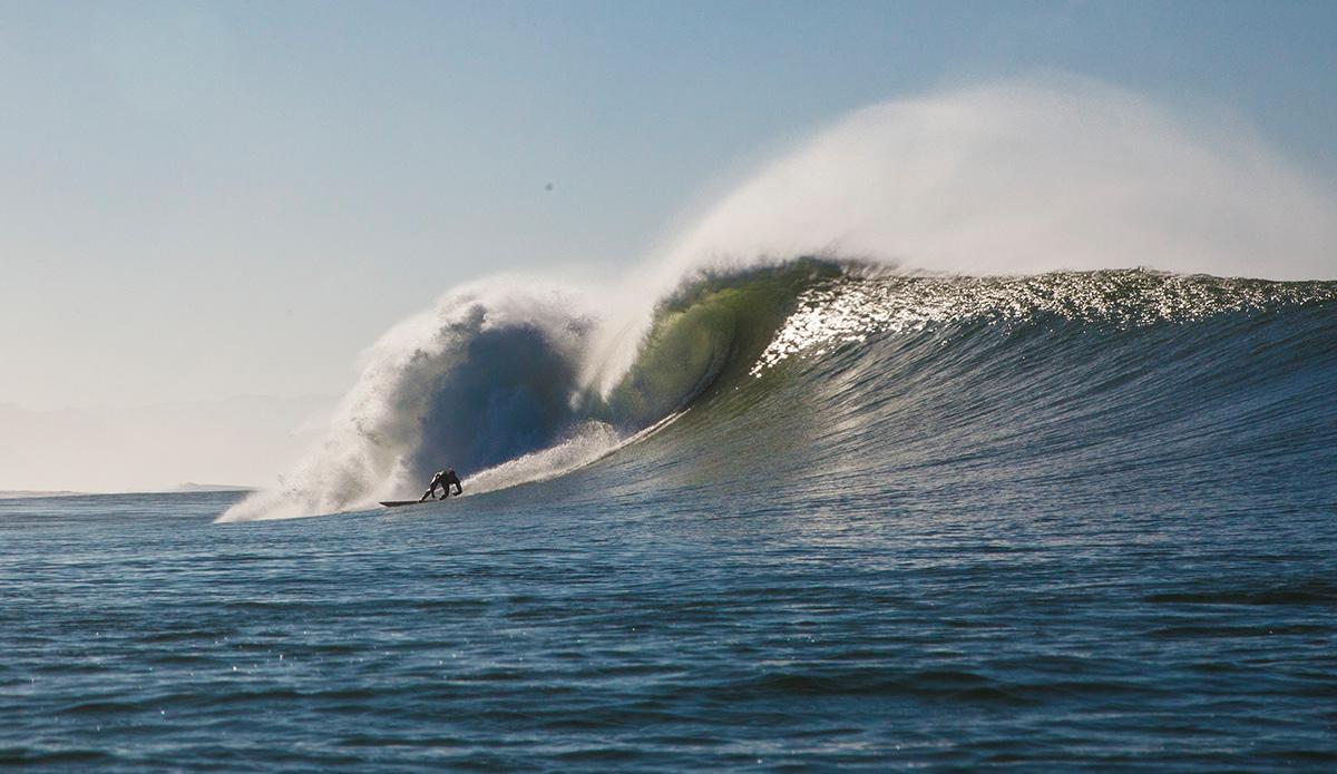 "January 24, 2015 | An unidentified surfer makes a bottom turn mid beach. Photo: <a href=\""http://instagram.com/seasachi/\"">Sachi Cunningham</a>"