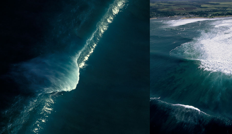 "From several years back, this is two different views of Outside Avalanche at 20-30 feet. Photo: <a href=""http://seandavey.com/wordpress/\"" target=_blank>Sean Davey</a>"