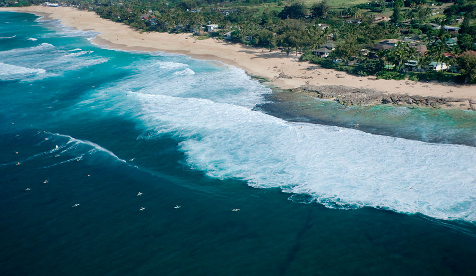 """Rocky Point from above. Photo: <a href=\""""http://seandavey.com/\"""" target=_blank>Sean Davey</a>"""