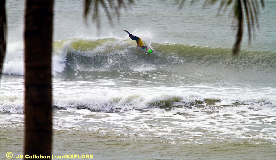"China Hainan. The left point at Riyue Bay could have been filled in as part of a golf course development but has proven its economic value by hosting several major surf contests in the past two years. Photo: Callahan/<a href=""http://www.facebook.com/pages/SurfEXPLORE/153813754645965\"" target=_blank>SurfExplore</a>"