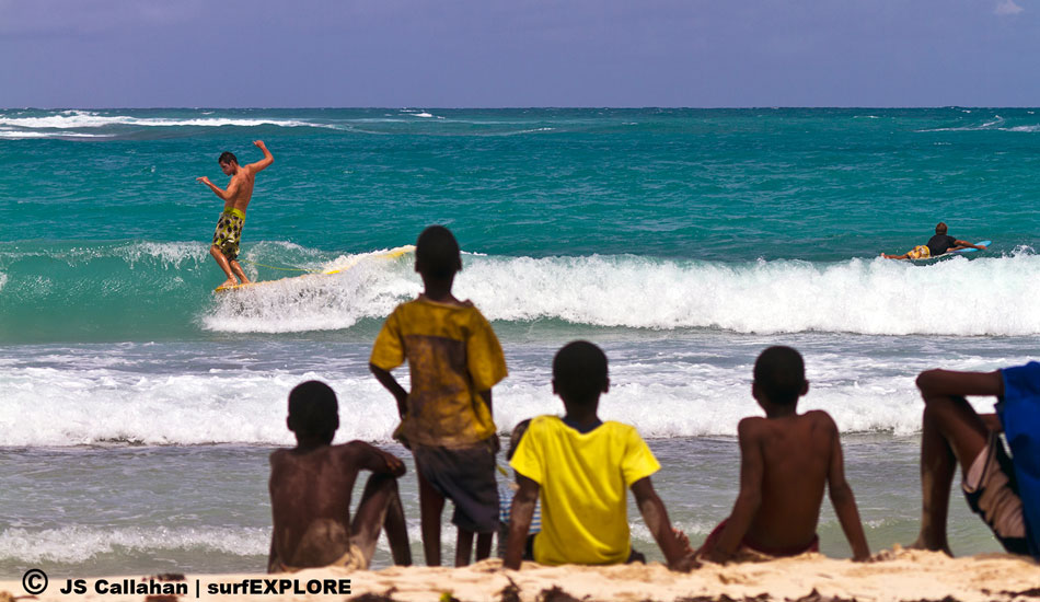 "Haiti. This offshore island in Haiti with several good reef breaks is being proposed for a huge development including a golf course, timeshare condominiums and cruise ship anchorage. Photo: Callahan/<a href=""http://www.facebook.com/pages/SurfEXPLORE/153813754645965\"" target=_blank>SurfExplore</a>"