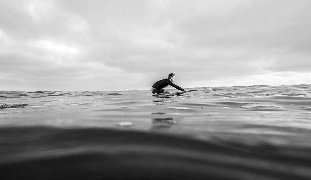 The paddle back. Sam Cadwallader, San Diego, CA.  Photo: Sheldon Magner
