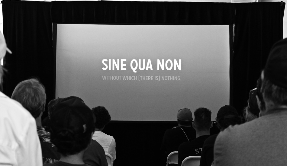 "Check out the online premiere of ""Sine Qua Non\"" on The Inertia this Tuesday! Photo: Green"
