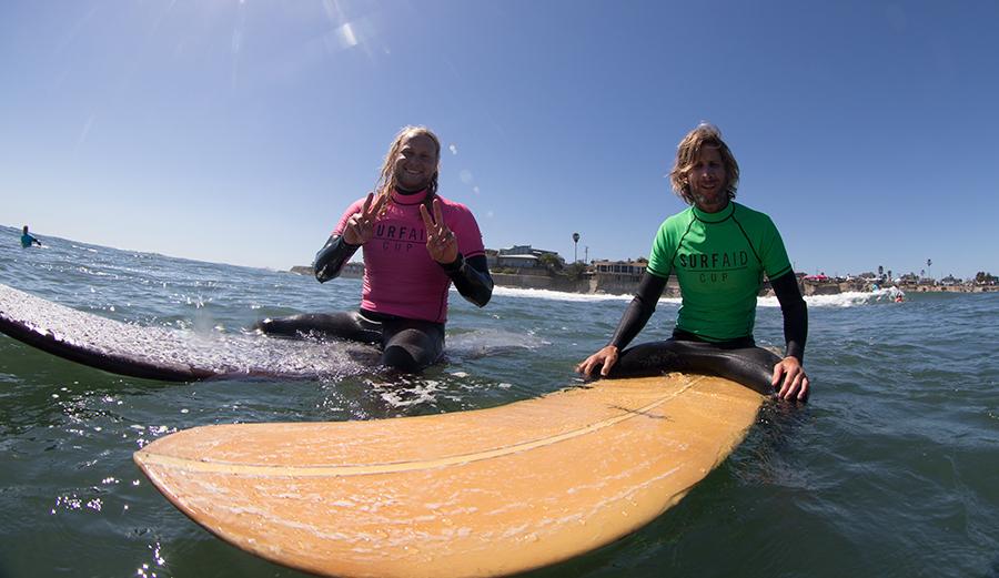 Todd Hanson and Joel Tudor. Photo: Nelly