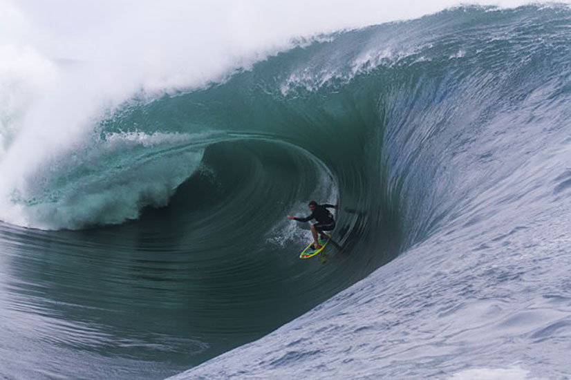 Laurie Towner - mid adrenalin surge. Photo: ASP