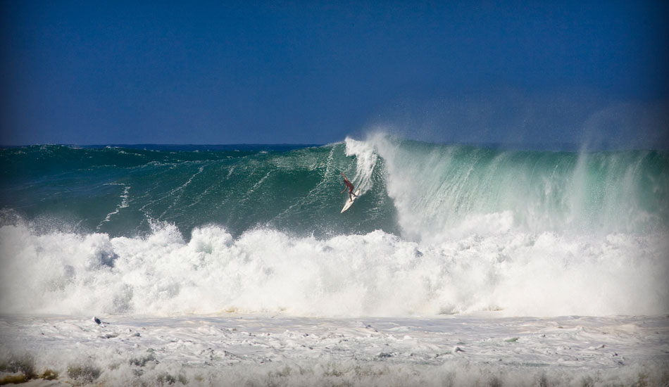 """Irons dropping in at the Eddie. Photo:  <a href=\""""http://tupat.posterous.com/never-forget-always-remember-the-king-andy-ir\"""" target=_blank>Patrick Eichstaedt</a>."""