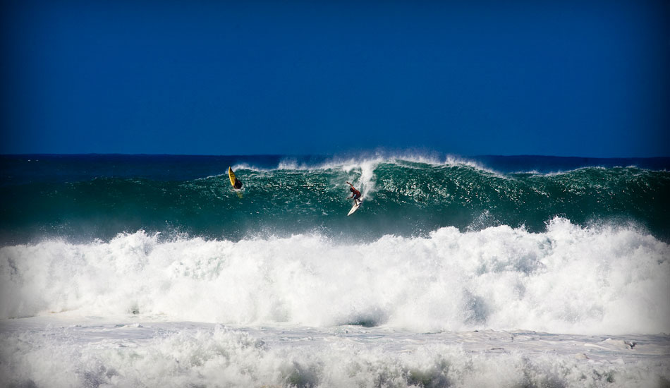"""Andy, Waimea Bay. Photo:  <a href=\""""http://tupat.posterous.com/never-forget-always-remember-the-king-andy-ir\"""" target=_blank>Patrick Eichstaedt</a>."""