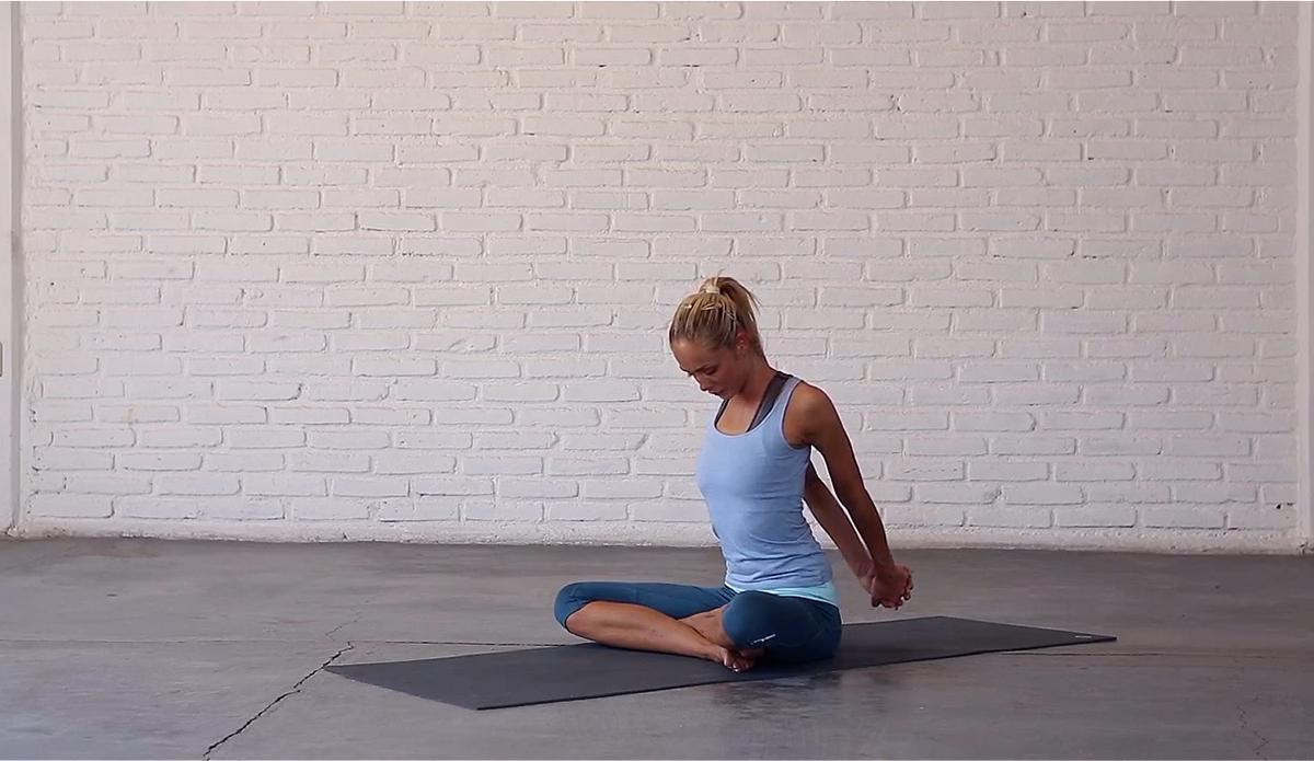 6. Chest Stretch pt. 2