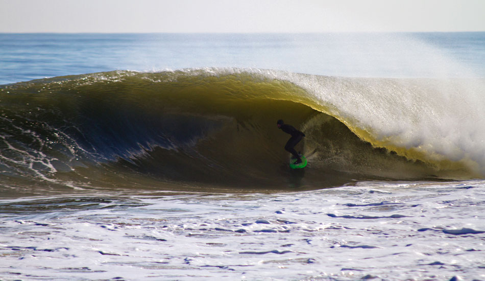 "Black Friday in Delmarva. It seems like every week there's another swell popping up somewhere. Raven Lundy puts the time in and gets the pay off. Photo: <a href=""http://thewildlyfe.com/\"">Eddie Compo/TheWildLyfe</a>"