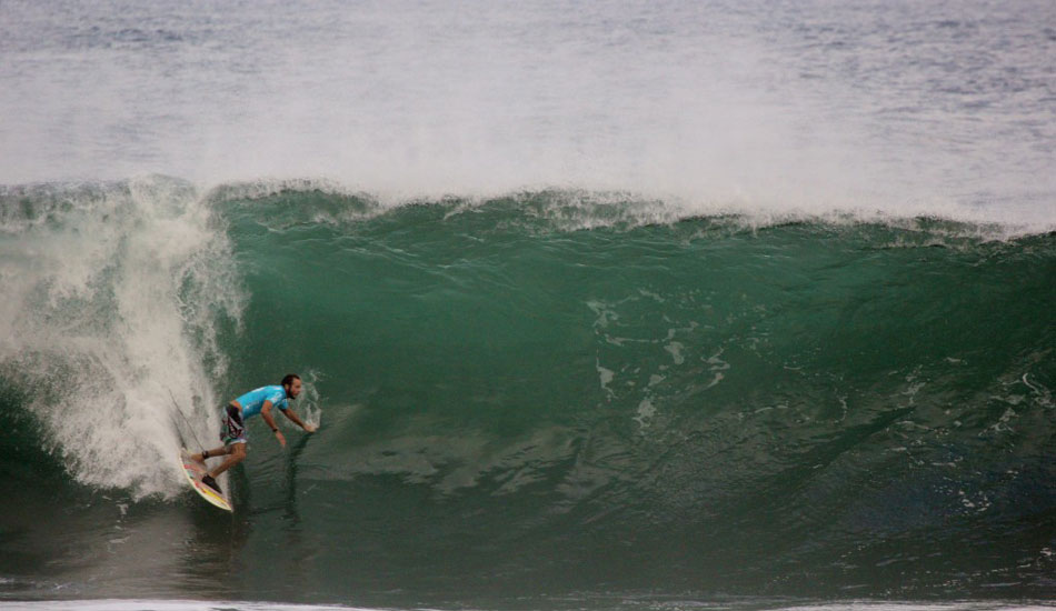 Mickey Bruneau looking for the entrance. Photo: Phil LeRoy