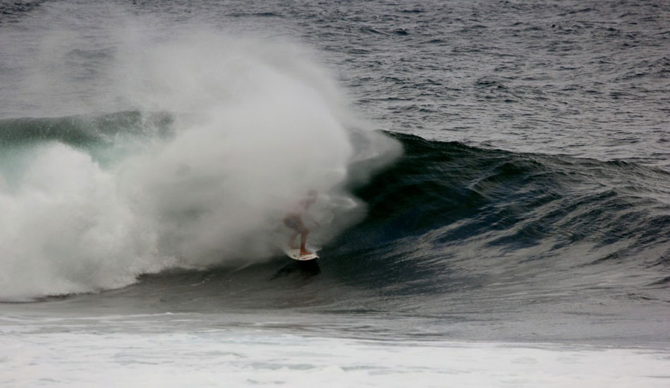 Myles Padaca, misted. Photo: Phil LeRoy