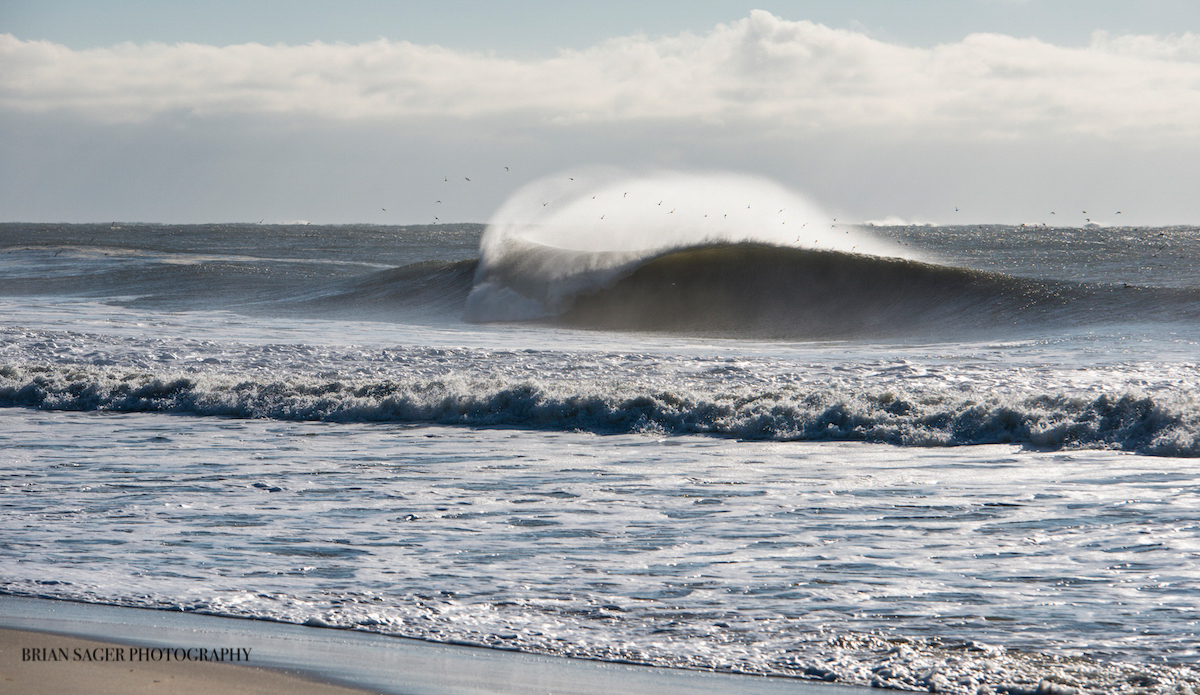 """February A-frame. Photo: <a href=\""""http://www.briansagerphotography.com\"""">Brian Sager</a>"""