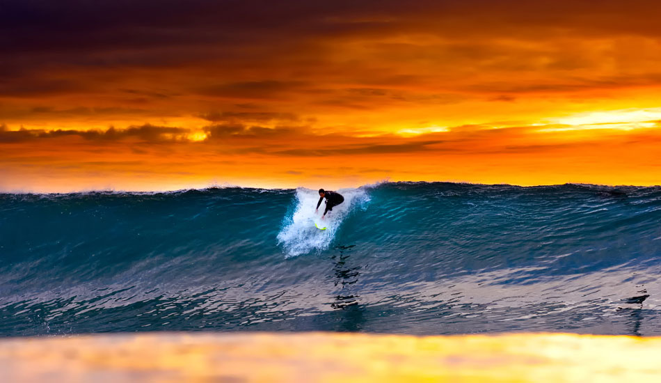 "Acid drop at Blacks. This is an image of an old friend, Patrick Reilly, dropping into a Blacks set on one of the craziest evenings I\'ve ever witnessed in the water...anywhere. <b>Photo:</b> <a href=""http://www.anthonyghiglia.com/\"" target=_blank>AnthonyGhiglia.com</a>/<a href=\""http://www.anthonyghigliaprints.com/\"" target=_blank>AnthonyGhigliaPrints.com</a>"