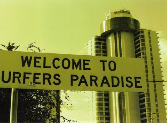 Surfers Paradise Sign Australia