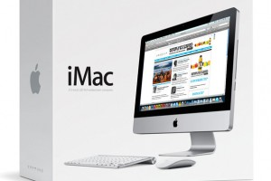 TheInertia.com featured on Apple's newest iMac box...psyche.