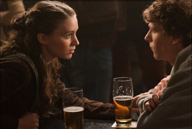 Rooney Mara and Jesse Eisenberg reenact the break-up conversation that allegedly inspired Facebook.