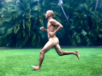 "Kelly Slater feeling free and breezy in ESPN's ""Body Issue."""