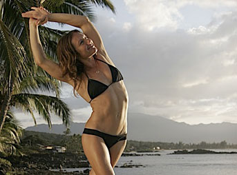 Rochelle Ballard Surf Into Yoga Quarter Moon