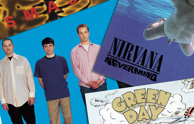 Weezer Nirvana Green Day The Offspring
