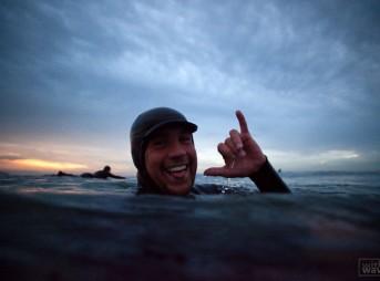 Mark Lukach Bodysurfing Body Surfer Shaka Nick Allen Photo