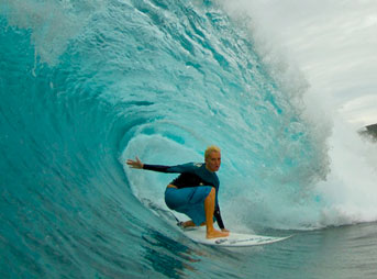 Keala Kennelly Backdoor Pipeline Barrell