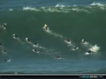 Surfer Nearly Drowns at Maverick's