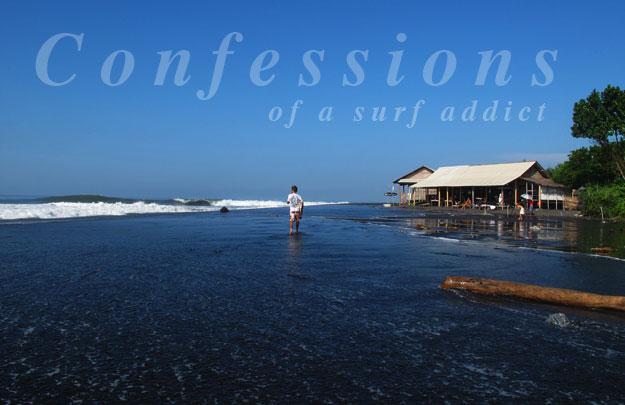 Bali Keramas Warung Lineup Surfer