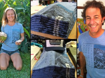 Rochelle Ballard and Shaun Tomson have their Inertia tees. Do you?