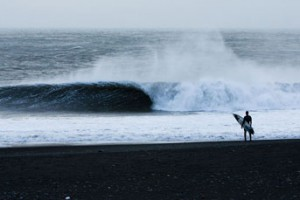 The surf in Iceland can be perfect. Photo: Nick Lavecchia