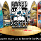 Sacred Craft Board Art Benefit comes to Del Mar this weekend.