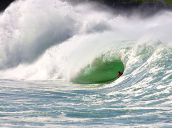 Andy Irons Waimea Shorebreak