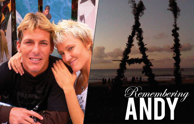 Andy Irons and Keala Kennelly