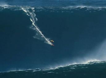 Garrett McNamara biggest wave ever surfed