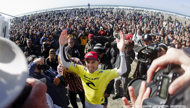 Kelly Slater Wins 11th World Title for Second Time Rip Curl Pro SF