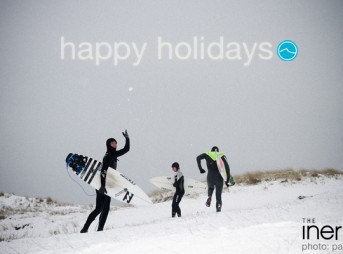 Happy Holidays from The Inertia! Photo: Pacotwo