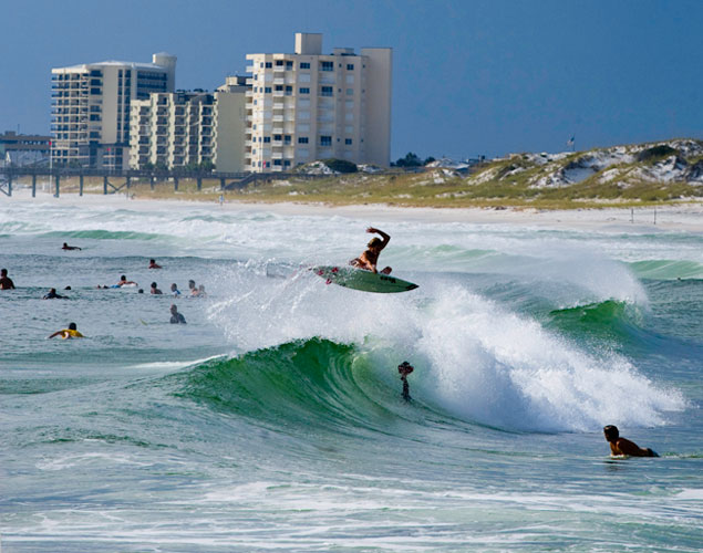 Sterling Spencer. The Gulf Coast of Florida. Photo: Patrick Ruddy