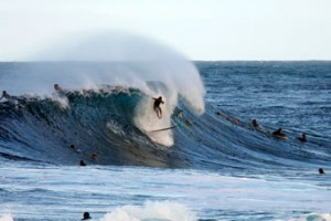 Wipeout at Pipeline