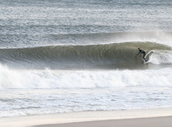 Perfect Wave Bayhead New Jersey Winter