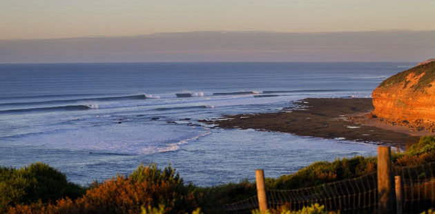 Bells Beach in brighter days. Photo: ASP/Kirstin