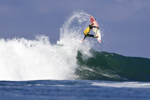 Gabriel Medina won the 2012 Nike Lowers Pro. Photo: ASP/Hilleman